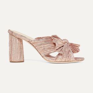 LOEFFLER RANDALL Penny bow-embellished mules